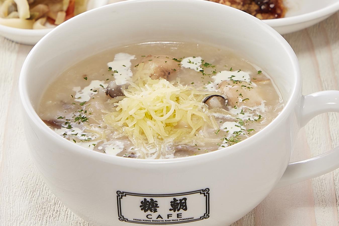 季節のおすすめメニュー「ポルチーニ茸香るきのことチーズ粥」を9月に販売開始いたします。