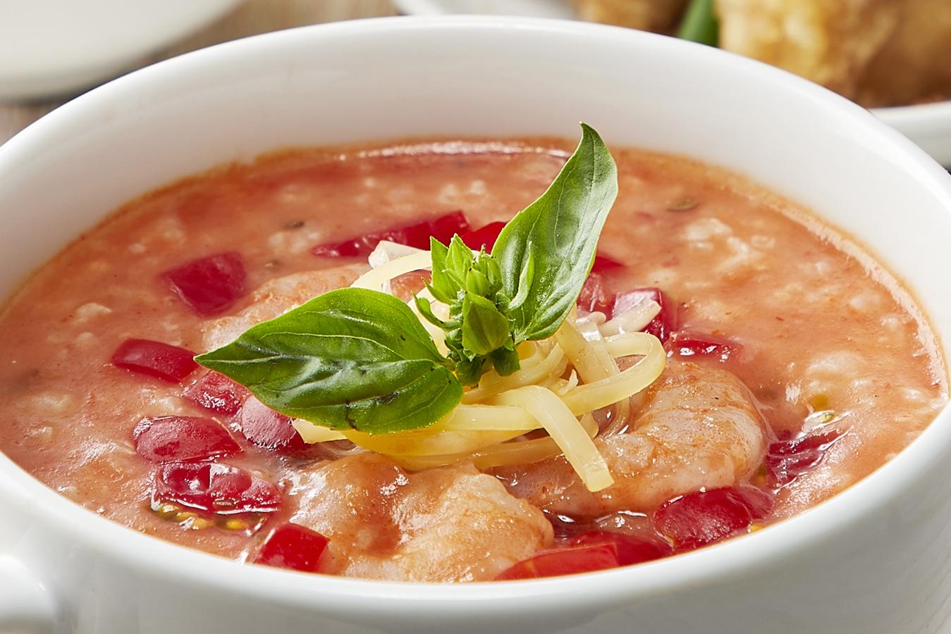 季節のおすすめメニュー「海老とトマトのイタリアン粥」販売開始!